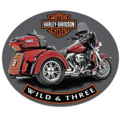 H-D ® Wild & Three, Dealer Exclusive*